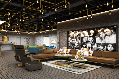 FIRST FLOOR LOUNGE AREA VIEW -1
