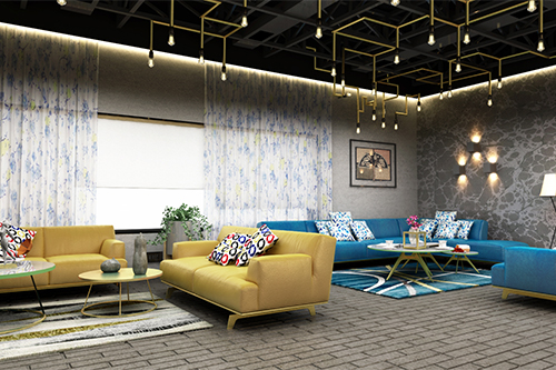 FIRST FLOOR LOUNGE AREA VIEW -2